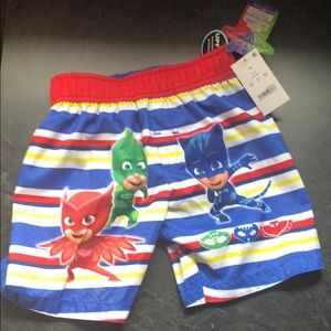 NWT Toddler Boys Pj Masks Bathing Suit
